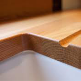 Solid wood work surfaces