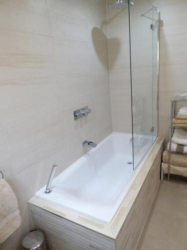 Tiled in bath